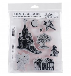 Cling Stamps Haunted House - Tim Holtz