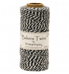 Bakers Twine Schwarz - Hemptique
