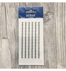 Klebepunkte grau, 3mm - Artoz