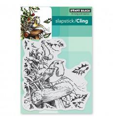 Cling Stempel Snowy Perch - Penny Black