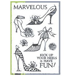 Hero Arts Clear Stamps High Heels