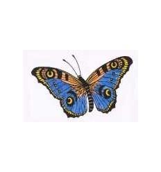 Schmetterling Pfauenauge Stempel