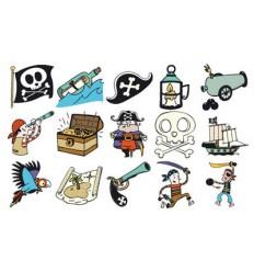 Pirates Stempel-Set