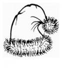 Nikolaus Mütze Stempel