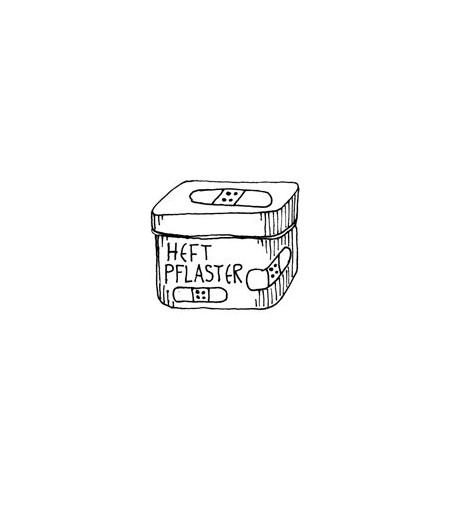 Pflaster Box Stempel
