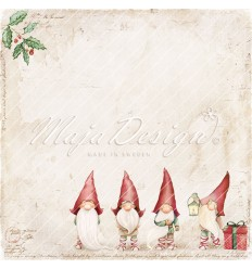 Scrapbooking Papier Traditional Christmas, Die Cuts - Maja Design