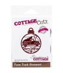 Stanzschablone Farm Truck Ornament - Cottage Cutz