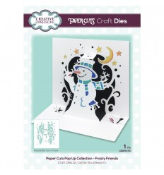 Stanzschablone Frosty Friends, Pop Up Collection - Creative Expressions