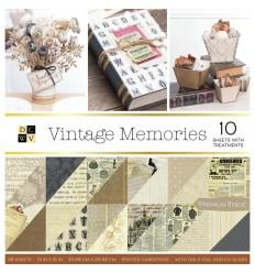 "Scrapbooking Papier Vintage Memories, 12""x12"" - DCWV"