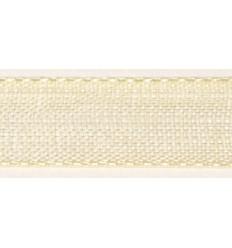 Organzaband beige, 7mm breit - Rayher