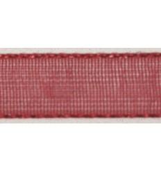 Organzaband rot, 7mm breit - Rayher