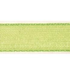 Organzaband hellblau, 7mm breit - Rayher