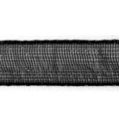 Organzaband silber, 7mm breit - Rayher