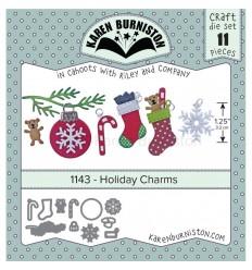 Stanzschablonen Holidy Charms - Karen Burniston