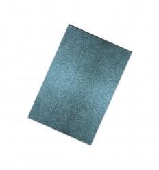 Flexfolie Lederdesign, Lederblau- Plottermarie