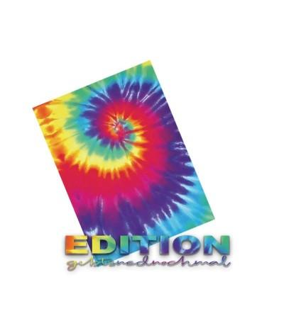 Vinylfolie Rainbow World, Rainbow Swirl, A4 - Plottermarie