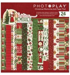 "Scrapbooking Papier Christmas Memories, 6 "" - Photo Play"