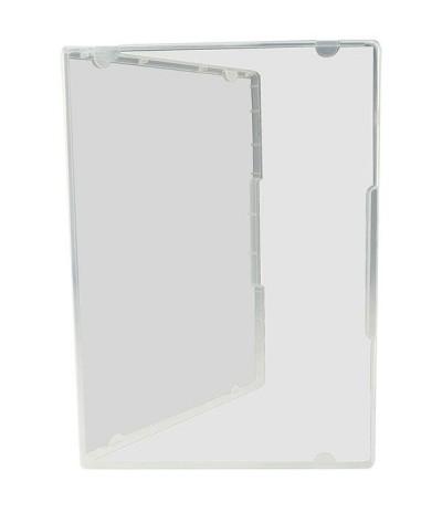Aufbewahrungsbox im DVD Format, transparent