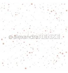 Scrapbooking Papier Blütenregen - Alexandra Renke