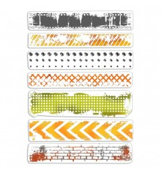Clear Stamps Urban Borders - Ciao Bella
