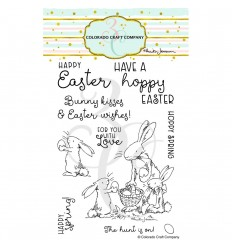 Clear Stamps Happy Easter - Colorado Craft Company