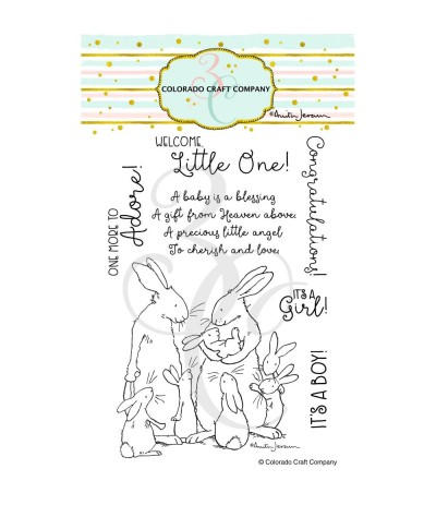 Clear Stamps New Baby - Colorado Craft Company