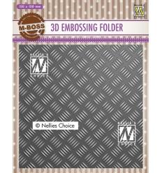 3D Prägeschablone Stripe Pattern 1 - Nellie's Choice