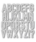 Stanzschablonen Wooden Alphabet - Memory Box