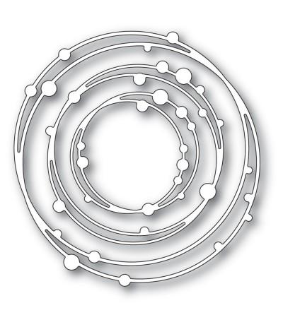 Stanzschablonen Bubble Circles - Memory Box