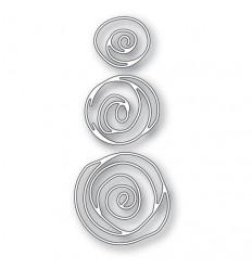 Stanzschablonen Scribble Roses Outline - Memory Box