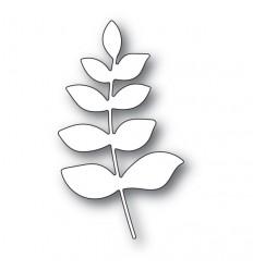 Stanzschablone Scribble Leafy Branch Background - Memory Box