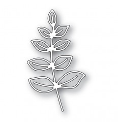 Stanzschablone Scribble Leafy Branch Outline - Memory Box