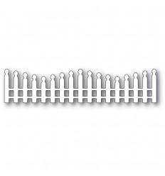 Stanzschablone Wavy Long Picket Fence - Memory Box / Poppy