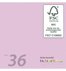Scrapbooking Papier in Fuchsia, 12 Stk. - FK