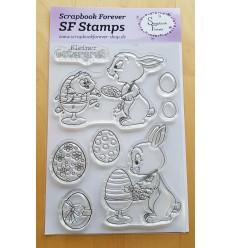 Clear Stamps Kleiner Ostergruss - Scrapbook Forever