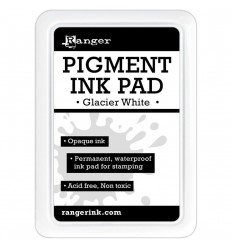 Pigment Ink Pad Glacier White - Ranger