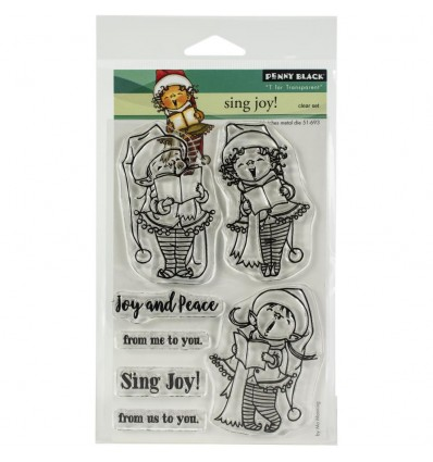 Clear Stamps Sing Joy - Penny Black