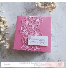 Stanzschablonen Apfelblüten-Hintergrund - Charlie & Paulchen