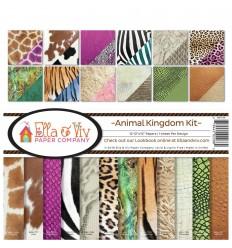 "Scrapbooking Papier Animal Kingdom, 12"" - Ella & Viv"