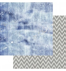 "Scrapbooking Papier Shades of Denim, 6""- Asuka Studio"