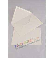 Briefumschläge in elfenbein, DIN B6, 12.5x18.0 cm, 25 Stk. - FK