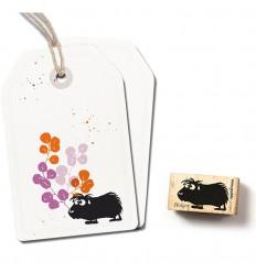 Stempel Meerschweinchen Holger - cats on appletrees