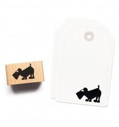 Stempel Hund Karl - cats on appletrees