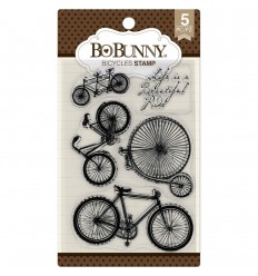 Clear Stamps Bicycles - BoBunny