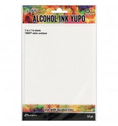 Yupo Papier, 230gsm, 10 Stk. - Tim Holtz