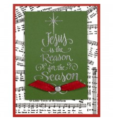 Clearstamps Caroling Music - Stampendous