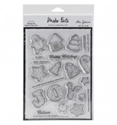 Clear Stamps Christmas Cookie - Marker Forte