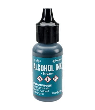 Alcohol Ink Stream - Tim Holtz