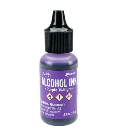 Alcohol Ink Purple Twilight - Tim Holtz