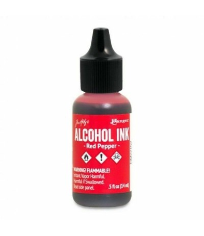 Alcohol Ink Red Pepper - Tim Holtz